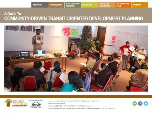 A Guide to Community-driven Transit Oriented Development Planning